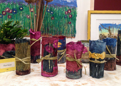 Kozo Wrapped Vases 2